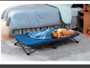 Image Is Loading Bed Folding Kids Beds Children Portable Childs Travel