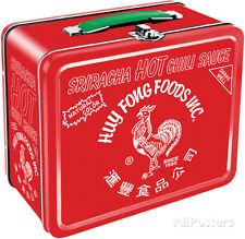 Sriracha Lunch Box Metal Collectible - 8x7