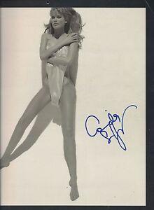 Claudia Schiffer Calendario De Desnudos Supermodel Firmado 12x12