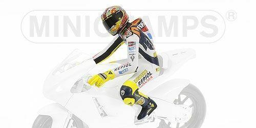 1 12 Minichamps Valentino Rossi Figure Figurine Valencia Moto GP 2003 NEW