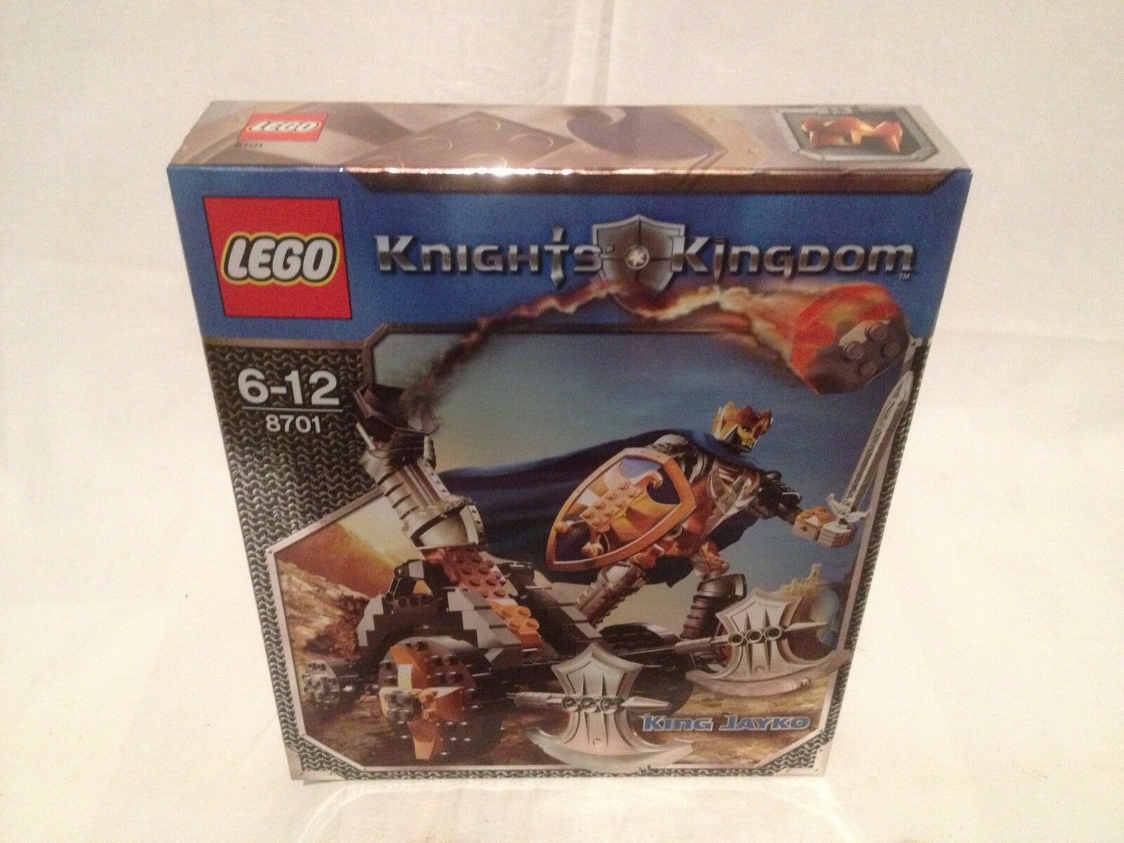 Lego Knights Kingdom 8701 King Jayko  NEUF 1 édition