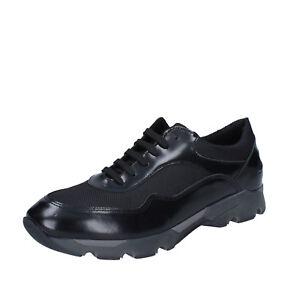 Dettagli su scarpe uomo BALDININI 43 EU sneakers nero pelletessuto BY537 43
