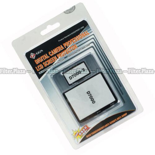 GGs Vidrio Óptico Protector De Pantalla Lcd Para Nikon D7000