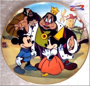 Mickey-Plate-little-tailor-mouse-Disney-Minnie-art