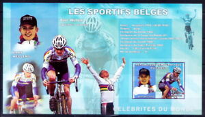 Congo 2006 MNH Imperf MS, Bart Wellens, Cycling, Sports