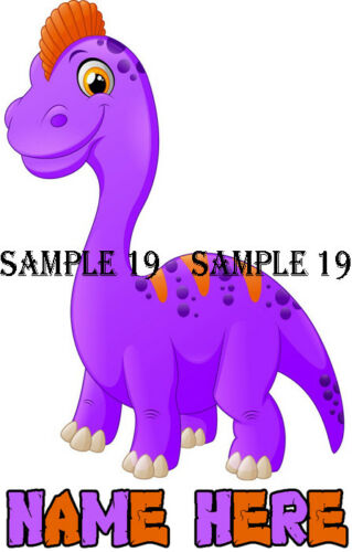 DINOSAUR IRON ON TRANSFER for light fabrics Ref 01-01