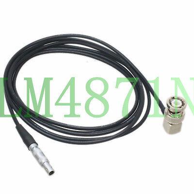6FT UHF PL259 Male to C5 LEMO-00S RG174 for Ultrasonic Equipment Flaw Detector