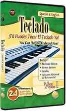Teclado(Keyboard) Vol.1 DVD,SPANISH-ENGLISH BRAND NEW SEALED ON SALE INSTRUCTION