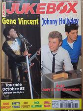 revue JUKEBOX MAGAZINE n°197 GENE VINCENT JOHNNY HALLYDAY KIM FOWLEY