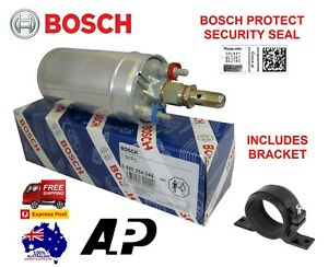 1-x-GENUINE-BOSCH-044-RACING-EXTERNAL-FUEL-PUMP-0580254044-E85-BRACKET