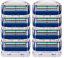 Gillette-Fusion-Refill-Razor-Blade-Cartridges-8-Ct thumbnail 2