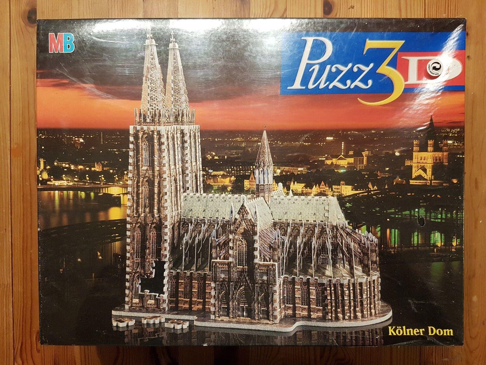 Kölner Dom, 704 Teile, Puzz3D, MB, NEU, OVP, SELTEN