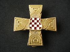 Croatia - Bosnia army, HVO, War Memorial Cross, 1992 - 1995, numbered; military