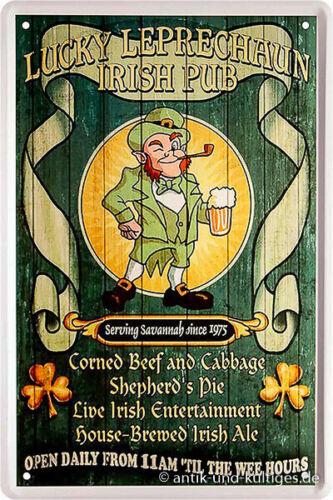 20x30 cm Blechschild Bier lustigen Sprüche witzig coole Deko Schild gewölbt