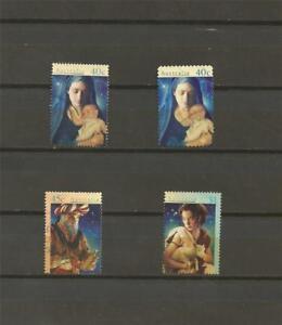 AUSTRALIA-1996-Christmas-used-complete-set
