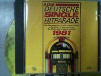 Deutsche Single Hitparade 1981:Roland Kaiser, Hanne Haller, Nicole, Paola.. [CD]