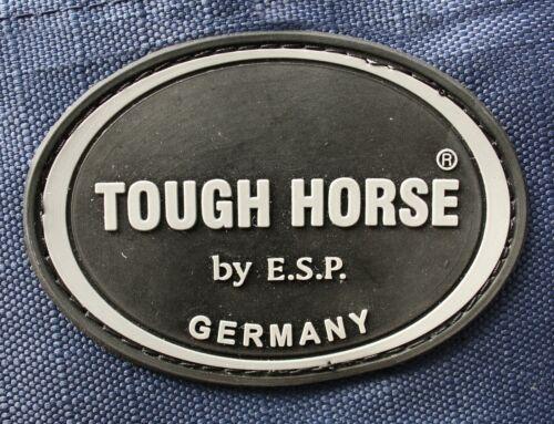 Tough Horse Turnout Winterdecke Half Neck navy 150g Microfaser Füllung 1200D
