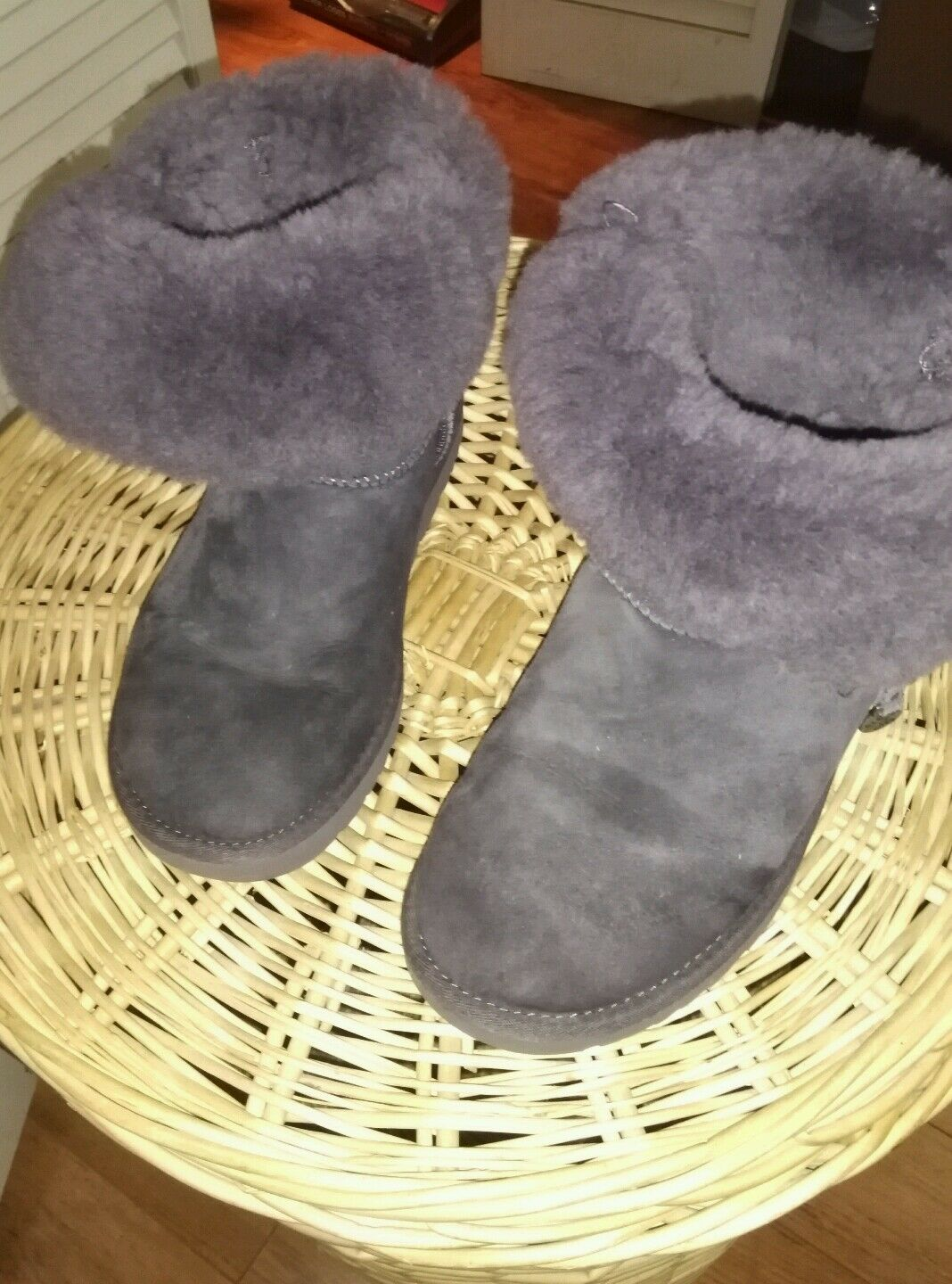 UGG Womens Booties Violet
