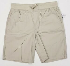 New-with-tag-NWT-Boys-RALPH-LAUREN-Beige-POLO-Casual-Summer-Shorts-14-16-18-20