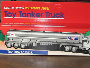 1993 Mobil Toy Tanker Truck; Limited Edition; Collectors Series by 1993 MOBIL Mobil oil company