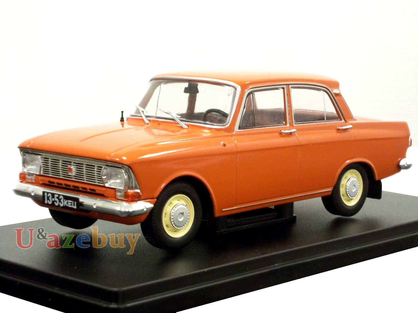 Moskvitch 412 Moskvich 1500 1 24 Scale 1967 Year Collectible Diecast Model Car