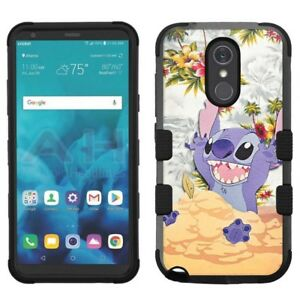 Details about for LG Stylo 4 Armor Impact Hybrid Cover Case Stitch #D