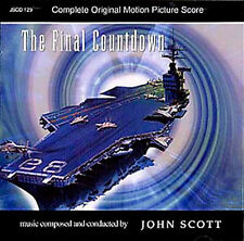 THE FINAL COUNTDOWN CD John Scott  SOUNDTRACK