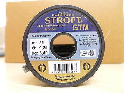 Gentile Stroft I Terminali Materiale Se Gtm 25 Metri Bobina Diametro 0,25mm Portata 6,4kg-l Gtm 25 Meterspule 0,25mm Durchmesser Tragkraft 6,4kg It-it