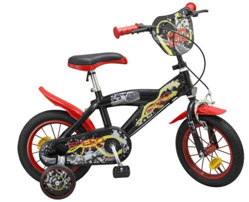Kinderfahrrad Speed schwarz 12 Zoll Rad Kinder Fahrrad Stützräder Jungen Mädchen