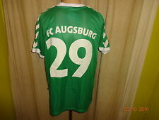 """FC Augsburg Hummel Trasferta Maglia Matchworn 2005/06 """"Humbaur"""" + N. 29 Taglia L"""