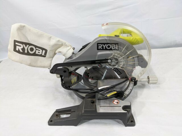 Ryobi 10 Inch Compound Mitre Saw With Laser Line Ts1345l In Box Shiping For Sale Online Ebay