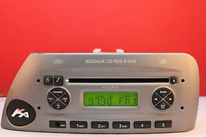 Image Is Loading Ford Ka Aux  Cd Radio Player Code
