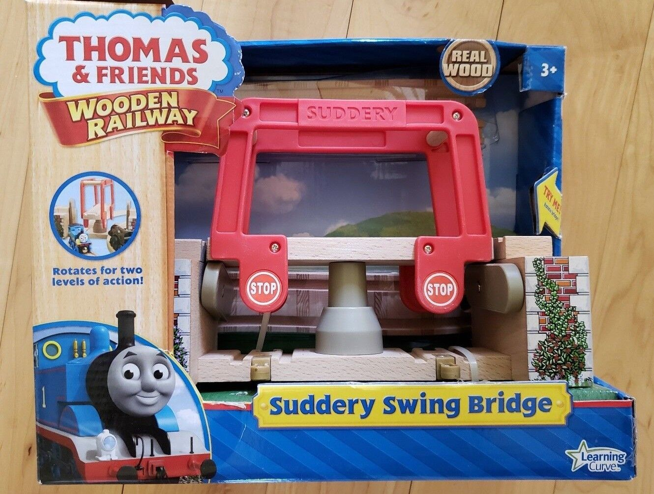 Rare and Retired - Thomas Wooden Railway  Suddery Swing Bridge   LC99386