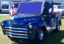 47' CHEVY Truck Custom Golf Cart Body Kit FRONT AND REAR Club Car DS and Yamaha
