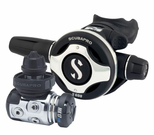Scubapro MK17 EVO/S600 with Octopus R 195 incl. Free Revision