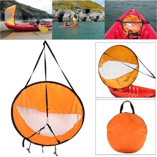 "42/"" Foldable Kayak Boat Wind Sail Sup Paddle Board Sailing Windpaddle Sailboat"