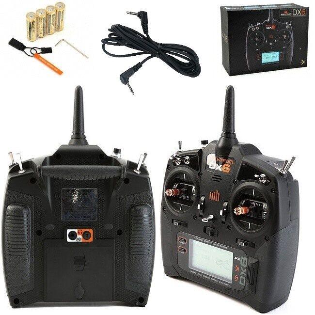 Spektrum DX6 6-Channel 6CH Dsmx Transmisor Radio con Entrenador Cordón MD2