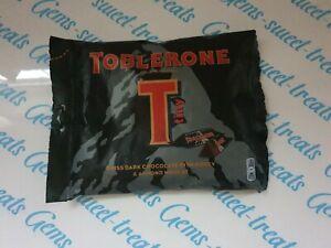 Details About Toblerone Dark Tiny 176g Mini Toblerone Honey Almond Nougat Swiss Dark Chocolate