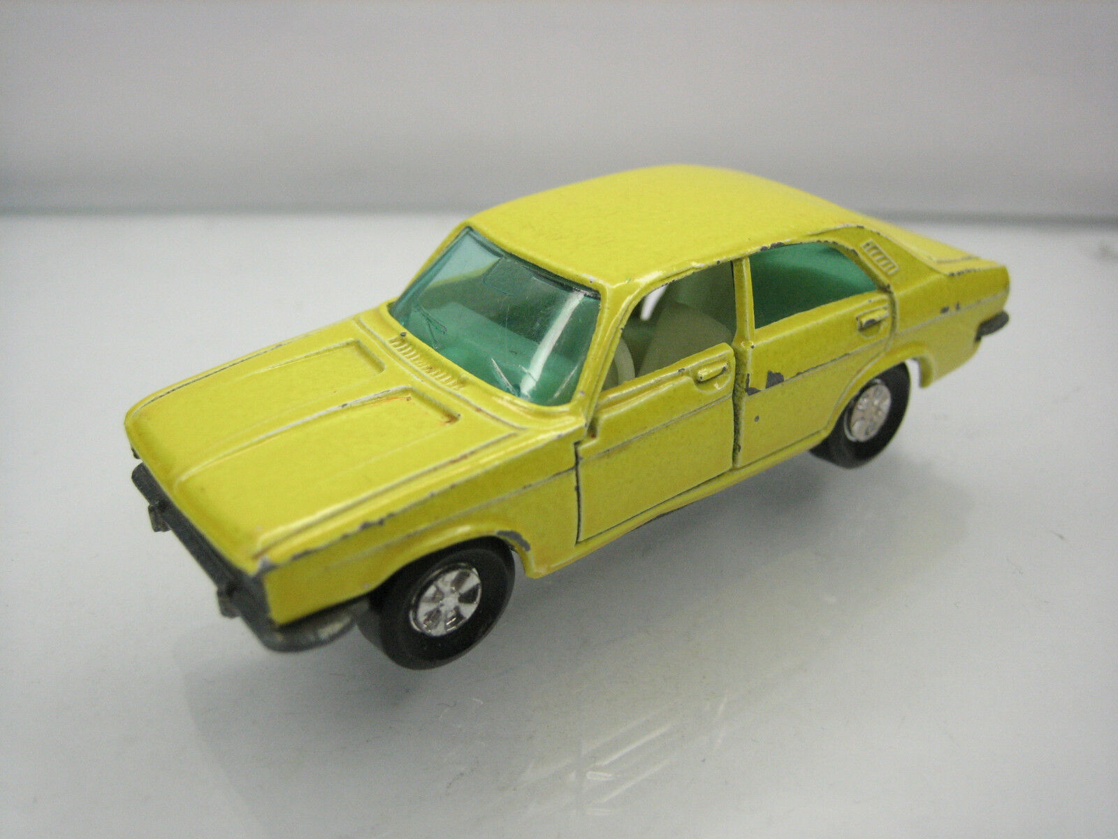 Diecast Majorette Chrysler 180 No. 208 Yellow Good Condition Very Rare