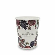 100pack 10oz Design Paper Cups Hot Coffee Cups Disposable Cups Tea Cups Flowe