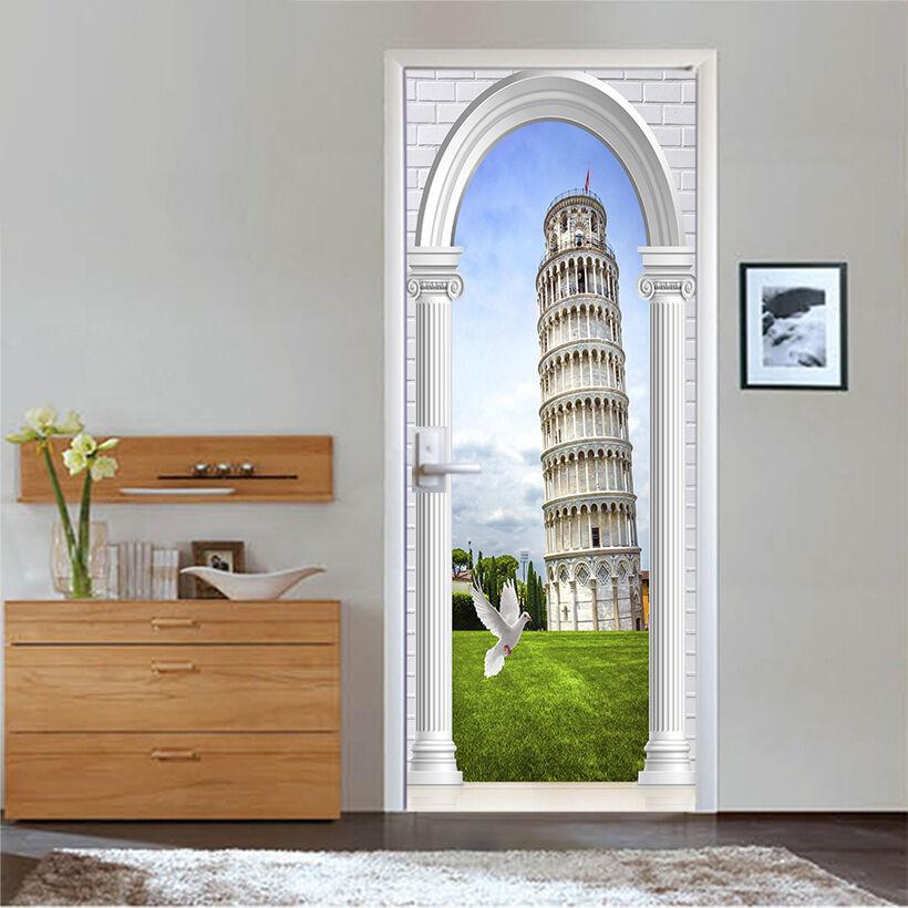 3D Gebäude 735 Tür Wandmalerei Wandaufkleber Aufkleber AJ WALLPAPER DE Kyra | Kostengünstiger  | Hohe Sicherheit  | Ab dem neuesten Modell