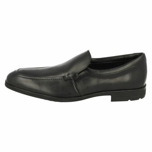 On Black Bootleg Bl Older Step Leather Boys Shoes Slip Willis Clarks School wzAqS7x