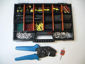 AMP-Superseal-Stecker-1-6-polig-Ausdrueckwerkzeug-Crimpzange-Motorrad-DUCATI