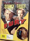 Fury Sylvia Sidney Spencer Tracy DVD Region 4 PAL
