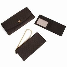 Michael Kors SignatureWallet MK 32S6GJRE9B Juliana Large Wallet Brown Agsbeagle