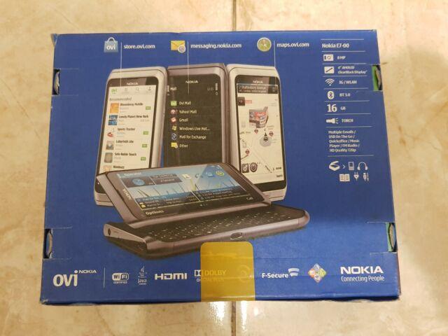Nokia E7-00 Unlocked GSM Phone Silver 16gb