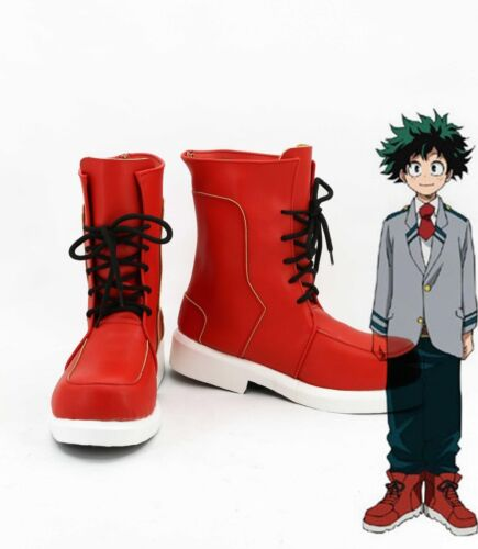 My Hero Academia Boku No Hero Academia Izuku Midoriya Cosplay Shoes Boots