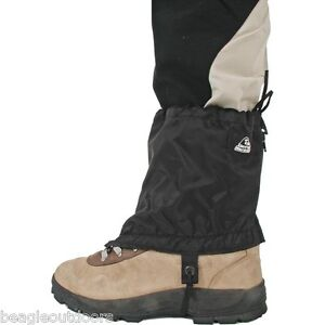 "NEW Liberty Mountain 6"" Nylon Black Ankle Gaiter ..."