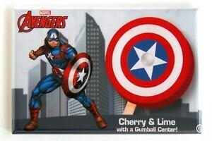 Captain America Arcade Game Marquee Fridge Magnet