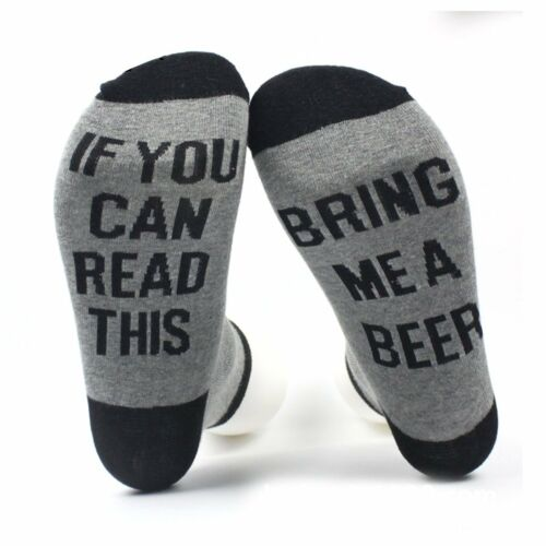 Unisex Funny Socks Wine Socks If You Can Read This Bring Me A Glass Of Wine Sock